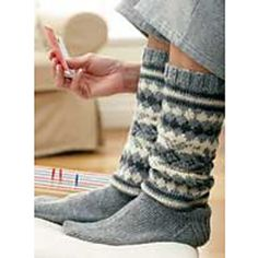 Ravelry: The Fair Isle Sock pattern by Patons