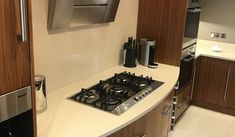 Used Luxury Solid Walnut Kitchen with Gaggenau Appliances - Ex Display Kitchens For Sale