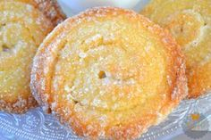 galletas-de-philadelphia Mexican Cookies, Biscuits, Donuts, Gooey Cookies, Cheese Pastry, Something Sweet, Dessert Recipes, Desserts, Sin Gluten