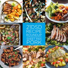 21DSD Recipe Roundup | Sheet Pan Pork | The 21-Day Sugar Detox by Diane Sanfilippo