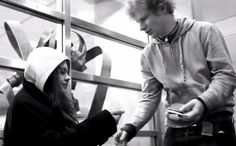 Ed Sheeran - The A Team music video what i like about this video is its all in black and white and about a woman's Journey with being homeless.