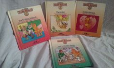 Lot Of 4 Teddy Ruxpin Worlds of Wonder Replacement Books #TeddyRuxpin #TeddyRuxpinBooks