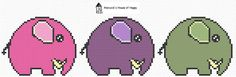 Happy Little Elephant: This week's free cross stitch chart is up at Hancock's House of Happy