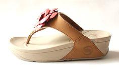 FitFlop Rose Mild Sandals Maroon $66.00. Save: 45% off. Model: Flip125