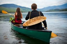 Canoe Elopement | A Cup of Jo