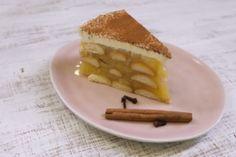 Nepečený jablečný dort | Apetitonline.cz Cheesecake, Waffles, Food And Drink, Breakfast, Desserts, Recipes, Diet, Bebe, Morning Coffee