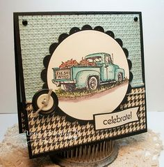 masculine card - Totally love this card!!