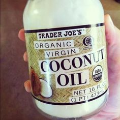 **For glossy, healthy hair**  Put organic unrefined coconut oil in dry hair from middle of head down to ends.  Let sit for at least 30 min, then shampoo out! Hair will be so shiny and soft! You'll be glad you pinned this!!