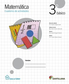 Cuaderno Actividades Matemática 3º Algebra 1, Fails, Homeschooling, Math Journals, Math Books, Cooperative Learning, Times Tables, Thread Spools, Homeschool