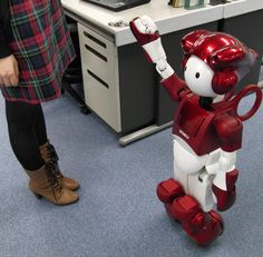 Where's my robot butler? Good (high-tech) help is hard to find (Image credit: Hitachi )