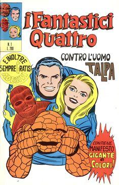 Fantastic Four I Fantastici Quattro 1 - Editoriale Corno 1971
