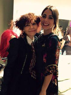 Gracias Maria Pryor por venir a verme en Violetta Live! Espero Q hayan disfrutado❤️