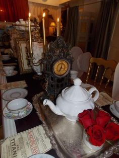 Veronica G's Tea Party / Titanic - Photo Gallery at Catch My Party Dance Decorations, Dance Themes, Prom Themes, Titanic Prom, Titanic Wedding, Party Party, Party Ideas, Casino Party, Diy Ideas