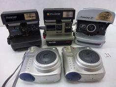 FC5-646EB ポラロイド等フィルムカメラ 5台セット ジャンク_画像1