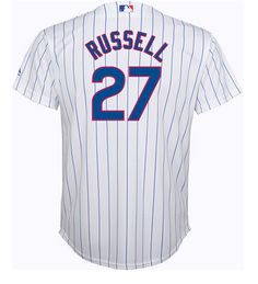 - MLB back neck logo - Tackle twill chest decoration - Tackle twill name & number - Transfer locker tag - 100% Polyester performance mesh - Cool Base jersey is designed with interlock moisture-wicking