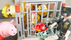 Paw Patrol Toys Go To Jail and Peppa Pig Saves Them. Chase Marshall Skye Rubble Rocky and Zuma also play with Peppa Pig and Wendy Wolf in in the Peppa Weebles House Swinging Tree Playset.   Subscribe here to never miss a video: https://www.youtube.com/channel/UCsRW8ikkc-uISUXtNKBfFcw?sub_confirmation=1  - Watch my last video: https://youtu.be/D0d43EIK6Ks  BACKGROUND MUSIC: BUDDY LITTLE IDEA from www.bensound.com #Shopkins #Shopkinsseason5 display stand DIY Video #shopkinsfan #shopkinsworld…