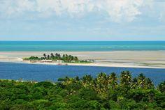 -Ilha de Itamaraca-Pernambuco, Brasil