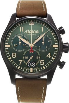 @alpinawatches Starter Pilot #best-seller-yes #bezel-fixed #bracelet-strap-leather #brand-alpina #case-material-black-pvd #case-width-44mm #chronograph-yes #date-yes #delivery-timescale-call-us #dial-colour-green #gender-mens #luxury #movement-quartz-battery #official-stockist-for-alpina-watches #packaging-alpina-watch-packaging #style-dress #subcat-startimer #supplier-model-no-al-372gr4fbs6 #top-twelve-pilot #warranty-alpina-official-2-year-guarantee #water-resistant-100m