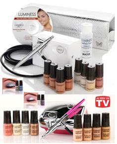 Luminess Air Airbrush System. I want to try this so bad!
