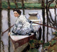 Quiet Time - Leo Putz (German, 1869-1940)