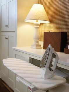 Fold Out Ironing Board >> http://blog.hgtvremodels.com/2013/04/15/boost-your-small-laundry-space/?soc=pinterest