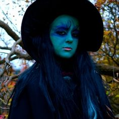 Witch Face Paint and Makeup Ideas for Halloween