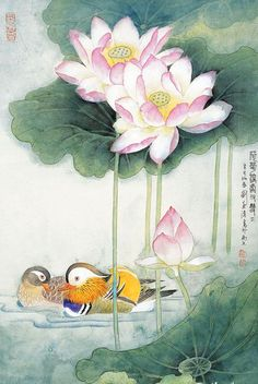 94 Best Lotus Flower Images In 2018 Chinese Painting Japanese