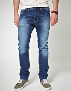 Diesel Thavar 885B Skinny Jeans