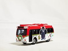 TOMICA TOKYO DISNEY CRUISER Christmas 2012 Special Edition Red and White Color