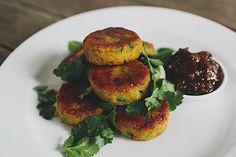 Aloo ki tikki (spicy Indian potato cakes) – Recipes – Bite
