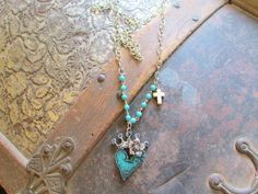 Rustic Metal Jewelry by Ataggirl Creations available at BuckarooBay.com