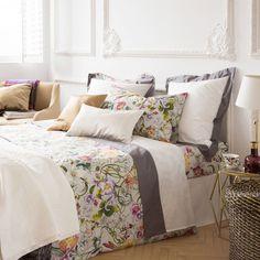 MULTICOLOURED FLOWERS BED LINEN - Bed Linen - Bedroom | Zara Home United Kingdom
