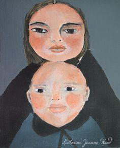 Mother and Baby by Miz Katie
