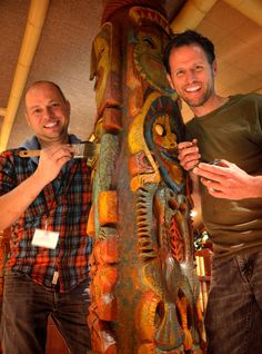 Disney artists Kevin Kidney & Jody Daily are among the many symposium presenters coming to The Hukilau in June. Arts And Crafts For Adults, Arts And Crafts Supplies, Tiki Art, Tiki Tiki, Disney Enchanted, Tiki Decor, Disney Artists, Disney Designs, Tiki Room