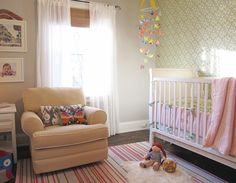 Norrie's Thoughtful Pink & Green Nursery