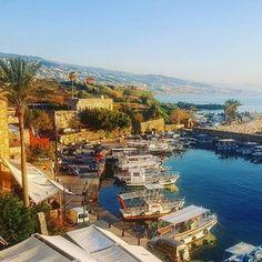 Port of Byblos, an ancient Phoenician city considered one of the oldest continuously inhabited cities in the world . . . #byblos #lebanon #port #sea #views  #pictureoftheday #photooftheday #travel #l4l #me #like4follow #followme #architecture #architecture #travels #travelbug #travelingram #instatravel #traveladdict #middleeast #traveltheworld #traveler #wanderlust #travelpics #beautiful #love #travelgram #travelblogger #mylebanon