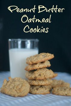 An old-time favorite, the oatmeal raisin cookie, with the great taste of peanut butter!