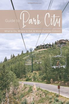A First-Timer's Travel Guide to An Epic Summer in Park City: What to Do, Where to Eat, and More Park City Utah Summer, Road Trip Adventure, Travel Guide, Travel Ideas, Dream Vacations, Travel Usa, Eat, Summit County, Road Trippin
