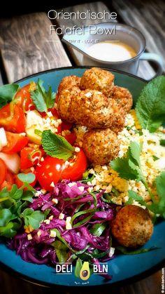 Vegan Vegetarian, Vegetarian Recipes, Healthy Recipes, Couscous Vegan, Falafel Vegan, Food Bowl, Savoury Dishes, Tandoori Chicken, Soul Food