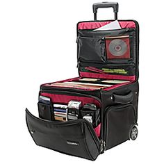 Totally got this for my sister, perfect teachers tote! Tons of storage and organization built in. At Office Depot Ativa® Mobil-IT Ultimate Workmate