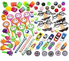 Party Favor Toy Prizes Assortment Of 101 Fun toys Items. Great Pack for School Classroom Rewards box, Carnivals, Party Favors Bag, Grab Bag, And Kids Events. Made And Sold EXCLUSIVELY By SMART NOVELTY - http://www.partythings.com/party-favor-toy-prizes-assortment-of-101-fun-toys-items-great-pack-for-school-classroom-rewards-box-carnivals-party-favors-bag-grab-bag-and-kids-events-made-and-sold-exclusively-by-smart-novelty.html