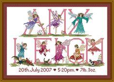 Fairy Cross Stitch Designs