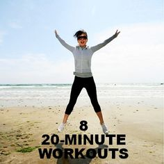 8 Ways to Work Out in 20 Minutes or Less