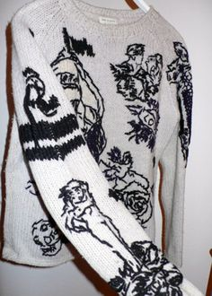 // dries van noten sweater
