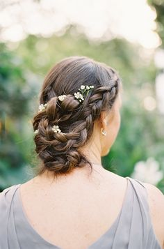 braids for the bridesmaids
