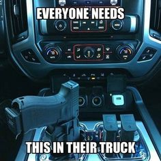 I have a usable reliable weapons retention system in my truck ...