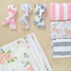 The Sweeter Side of Mommyhood » DIY Coordinating Newborn Gift Set