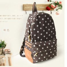 New Rucksack Swallow Print Canvas Women Backpack For Girl Shoulder ...