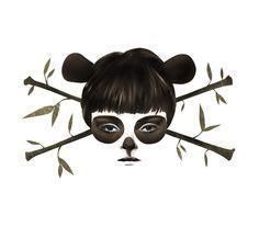 Disguise. #panda