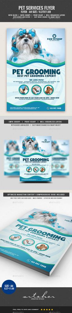 Cleaning Flyer Template V  Flyer Template